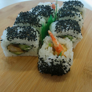 Awokado Krewetka tempura Roll